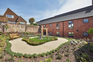 Oulton Abbey Care Home Garden