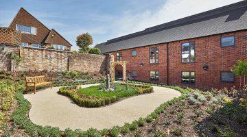 Oulton Abbey Care Home Garden