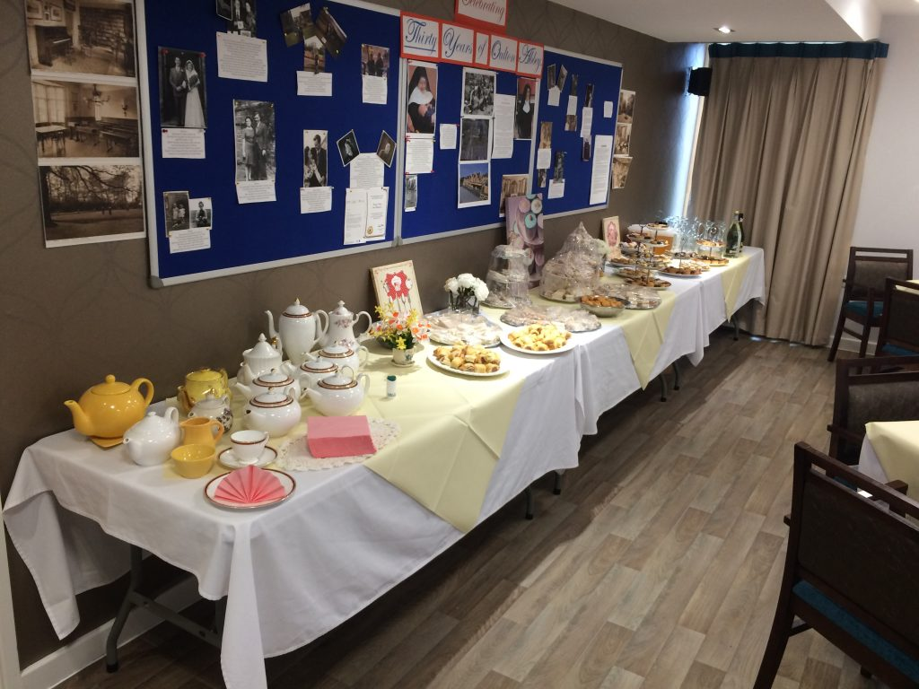 Afternoon Tea for our residents and their families
